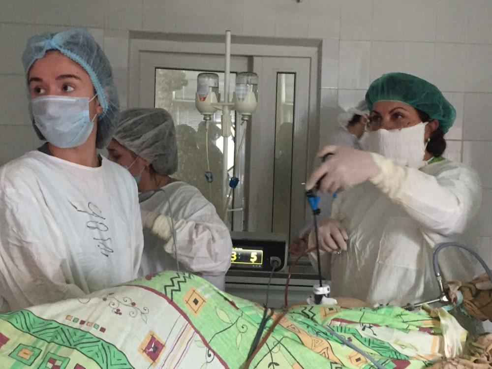 Фото:Влагалищная гистерэктомия при цистоцеле